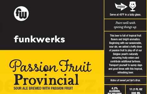 Funkwerks Passionfruit Provincial