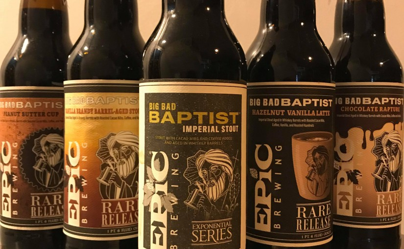 EPIC ビッグバッドバプティスト・スペシャルビールのご案内