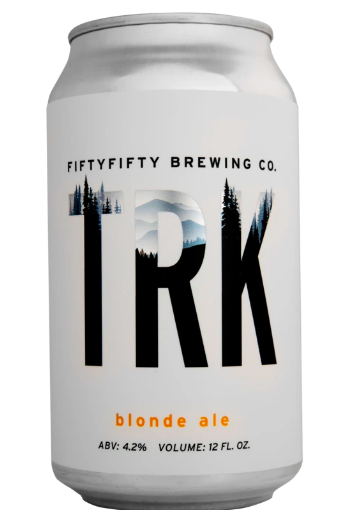 Fifty Fifty Brewing TRK Blonde