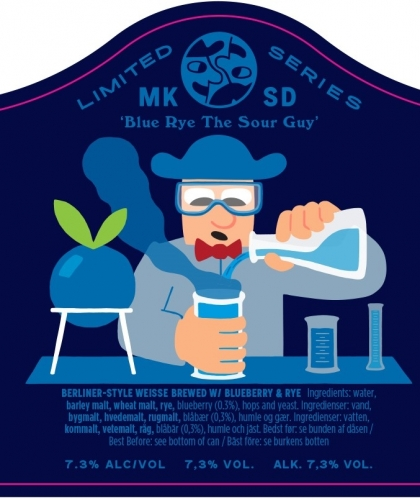 Blue Rye The Sour Guy