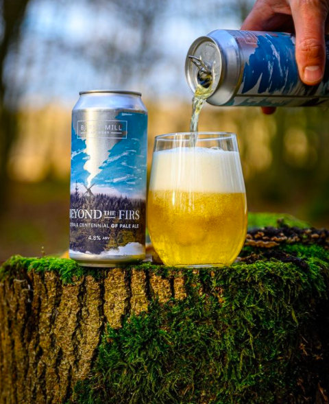 Beyond The Firs 4.8% Gluten Free Pale Ale