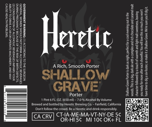 Heretic Shallow Grave
