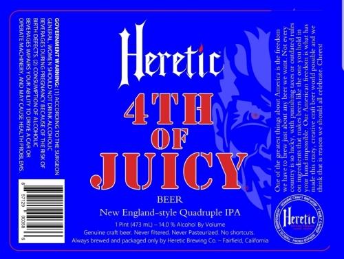 Heretic 4th of Juicy
